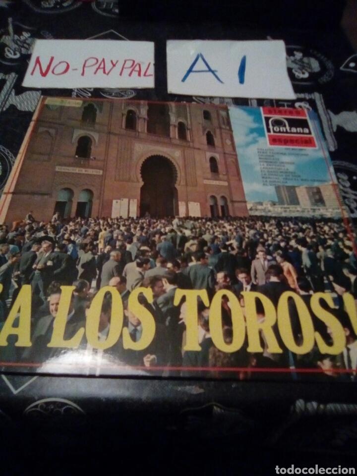 A LOS TOROS STEREO FONTANA ESPECIAL (Música - Discos - LP Vinilo - Flamenco, Canción española y Cuplé)