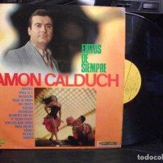 Discos de vinilo: RAMON CALDUCH. EXITOS DE SIEMPRE. LP CON 14 CANCIONES. EKIPO, 1967. AMAPOLA. MARIA PEPETO. Lote 133499598