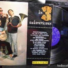 Discos de vinilo: LOS 3 SUDAMERICANOS - GUANTANAMERA / LP BELTER DE 1967 . Lote 133499762