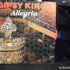 Discos de vinilo: GIPSY KINGS - ALLEGRIA (LP, ALBUM) LABEL:SONY 1990. Lote 133500074