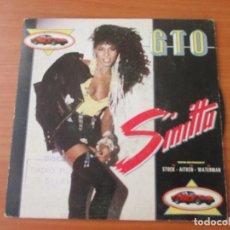 Discos de vinilo: SINITTA GTO/ GTO INSTRUMENTAL FONOMUSIC 1987. Lote 133501602