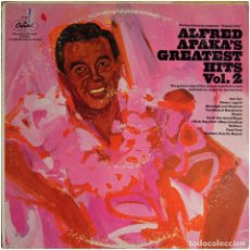 Discos de vinilo: ALFRED APAKA – ALFRED APAKA'S GREATEST HITS VOL. 2 - LP US - CAPITOL RECORDS M-11877. Lote 133503234