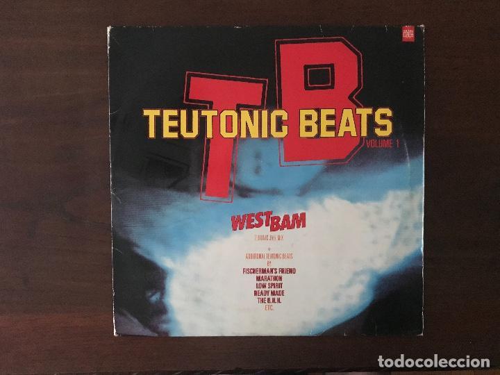 TEUTONIC BEATS VOLUME 1 SELLO: TEUTONIC BEATS – 836 986-1, MERCURY – 836 986-1 FORMATO: 2 × VINYL (Música - Discos - LP Vinilo - Techno, Trance y House)