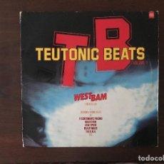 Discos de vinilo: TEUTONIC BEATS VOLUME 1 SELLO: TEUTONIC BEATS – 836 986-1, MERCURY – 836 986-1 FORMATO: 2 × VINYL. Lote 133510946