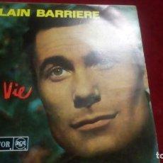 Discos de vinilo: MA VIE - ALAIN BARRIERE. Lote 133513986