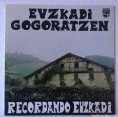 Discos de vinilo: LP ALBUM EUZKADI GOGORATZEN. Lote 133514057