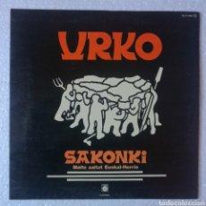 Discos de vinilo: LP ALBUM URKO / SAKONKI. Lote 133514109