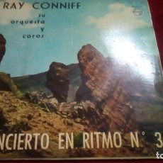 Discos de vinilo: CONCIERTO EN RITMO N.° 3 - RAY CONNIF. Lote 133514126