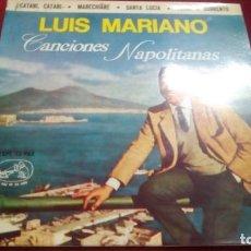 Discos de vinilo: CANCIONES NAPOLITANAS - LUIS MARIANO. Lote 133514170