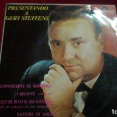 Discos de vinilo: PRESENTANDO A GERT STEFFENS. Lote 133514854