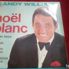 Discos de vinilo: NOËL BLANC - ANDY WILLIAMS. Lote 133515002