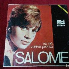 Discos de vinilo: SALOME. Lote 133515054