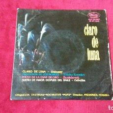 Discos de vinilo: CLARO DE LUNA. Lote 133515146