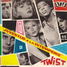 Discos de vinilo: EP JUVENTUD A LA INTEMPERIE TWIST DANGER'S DUO EDITADO EN ESPAÑA . Lote 133521998