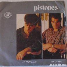 Discos de vinilo: PISTONES - EL PISTOLERO M R - 1983. Lote 133522114