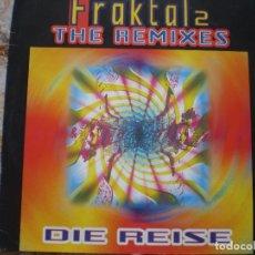 Discos de vinilo: FRAKTAL 2. DIE REISE. Lote 133529182