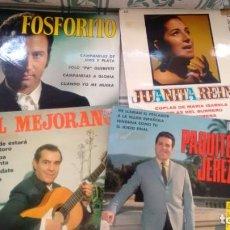 Discos de vinilo: LOTE DE 4 EP.S (VINILO) DE FLAMENCO. Lote 133541010