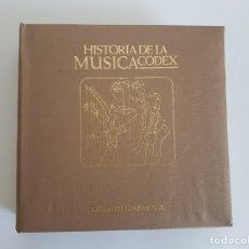 Discos de vinilo: HISTÓRIA DE LA MÚSICA ( SINGLE ) EDITORIAL CODEX. Lote 133541074