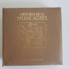 Discos de vinilo: HISTÓRIA DE LA MÚSICA ( SINGLES ) EDITORIAL CODEX. Lote 133541362