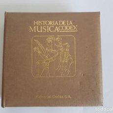 Discos de vinilo: HISTÓRIA DE LA MÚSICA ( SINGLES ) EDITORIAL CODEX. Lote 133541614