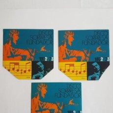 Discos de vinilo: DISCO FUNDADOR SORPRESA 1972/73 ( SINGLE ). Lote 133550562