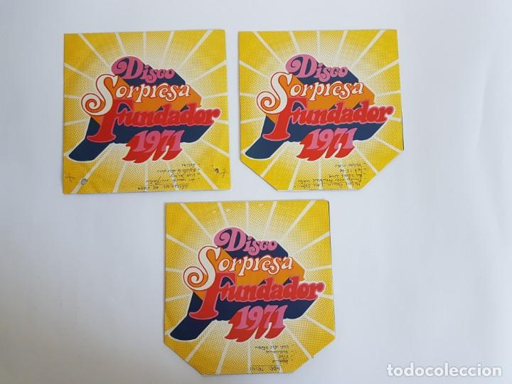 DISCO SORPRESA FUNDADOR 1971 ( SINGLE ) (Música - Discos de Vinilo - Maxi Singles - Otros estilos)