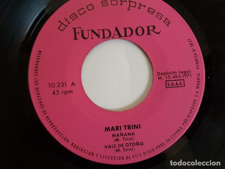 Discos de vinilo: DISCO SORPRESA FUNDADOR 1971 ( SINGLE ) - Foto 3 - 133551286