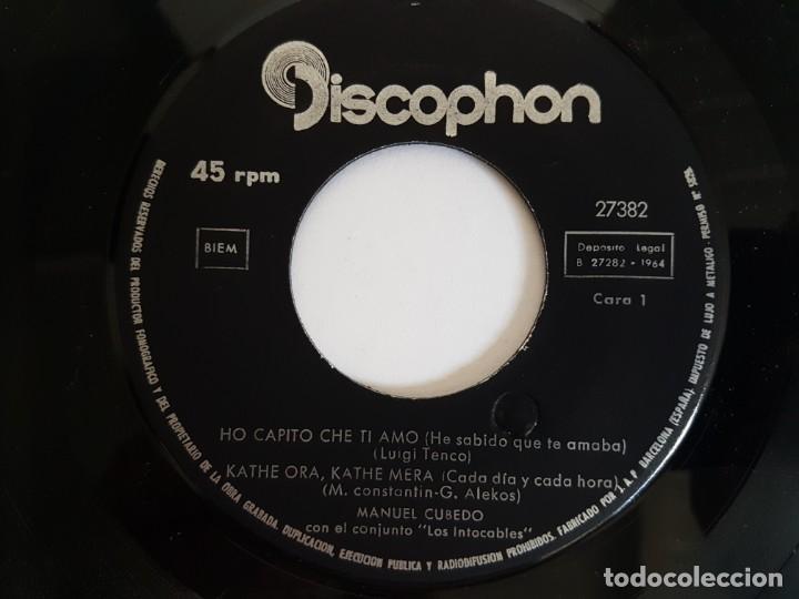 Discos de vinilo: SINGLE LAS GUITARRAS DE MANUEL CUBEDO - Foto 3 - 133552566