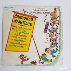 Discos de vinilo: SINGLE CANCIONES INFANTILES. Lote 133552914