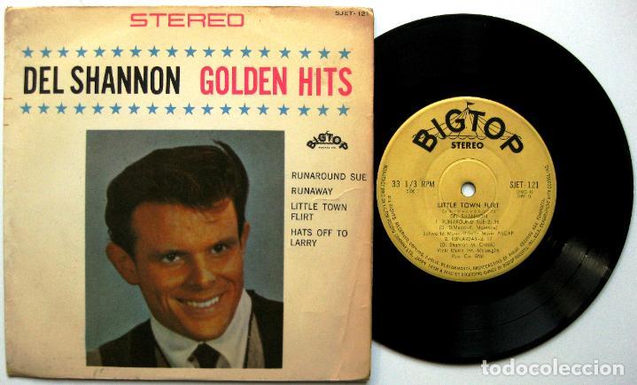 DEL SHANNON - GOLDEN HITS - EP 1963 BIG TOP JAPAN (EDICIÓN JAPONESA) BPY (Música - Discos de Vinilo - EPs - Rock & Roll)