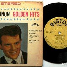 Discos de vinilo: DEL SHANNON - GOLDEN HITS - EP 1963 BIG TOP JAPAN (EDICIÓN JAPONESA) BPY. Lote 133557682