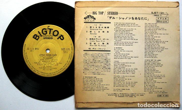 Discos de vinilo: Del Shannon - Golden Hits - EP 1963 Big Top Japan (Edición Japonesa) BPY - Foto 2 - 133557682
