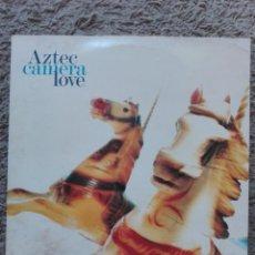 Discos de vinilo: AZTEC CAMERA-LOVE-ORIGINAL ESPAÑOL 1987 . Lote 133559822
