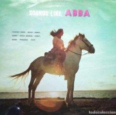 Discos de vinilo: SOUNDS LIKE ABBA **** LP 1977. Lote 133562022