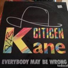 Discos de vinilo: CITICEN KANE.. Lote 133574262