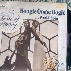 Disques de vinyle: SINGLE (VINILO) DE A TASTE OF HONEY AÑOS 70. Lote 133574270
