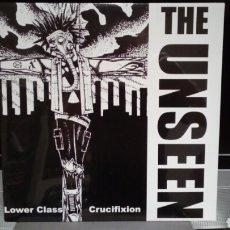 Discos de vinilo: THE UNSEEN LOWER CLASS CRUCIFIXION. Lote 133575019