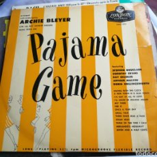 Discos de vinilo: PAJAMA GAME, ARCHIE BLEYER WITH THE RAY CHARLES SINGERS, DISCO LP, LONDON RECORDS, AUSTRALIA 1957. Lote 133577601
