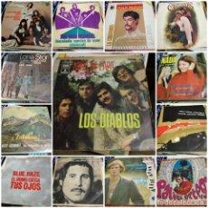 Discos de vinilo: LOTE 110 EP SINGLE LONE STAR ROCKING BOYS LOS DIABLOS SHEILA JOHNNY HALLYDAY SALVAJES BRAVOS RAPHAEL. Lote 133583562