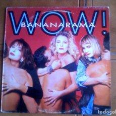 Discos de vinilo: LP DEL GRUPO BANANARAMA -WOW. Lote 149950208