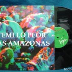 Discos de vinilo: LA FURA DELS BAUS - TEMI LO PEOR/LAS AMAZONAS - VIRGIN 1989. Lote 133585690