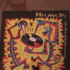 Discos de vinilo: HEY MR. DJ. THE 4TH COMPILATION. Lote 133585951