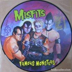Discos de vinilo: MISFITS FAMOUS MONSTERS PICTURE LP ORIGINAL 1999. Lote 133586398