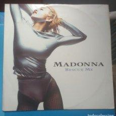 Discos de vinilo: MADONNA -RESCUE ME.(SIRE 1990).MADE IN UK. - NO INCLUYE POSTER. Lote 133587290