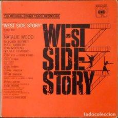 Discos de vinilo: LEONARD BERNSTEIN – WEST SIDE STORY (BANDA SONORA ORIGINAL DE LA PELICULA) [ESPAÑA, 1962. MONO]. Lote 133590386