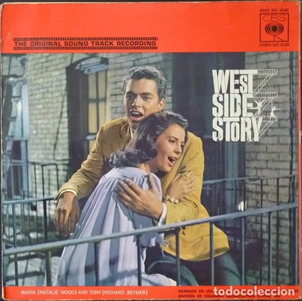 Discos de vinilo: Leonard Bernstein – West Side Story (Banda Sonora Original De La Pelicula) [España, 1962. Mono] - Foto 2 - 133590386