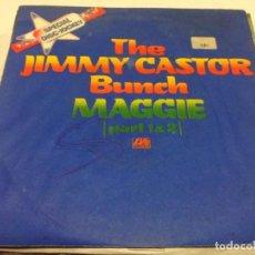 Discos de vinilo: THE JIMMY CASTOR BUNCH - MAGGIE (PART 1 & 2) (7-SINGLE) SOUL FUNK. Lote 133595846