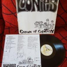 Discos de vinilo: PUNK ROCK ALTERNATIVO LOONIES CROWN OF CREATION ORIGINAL LP 1990 ALEMANIA. Lote 133602926