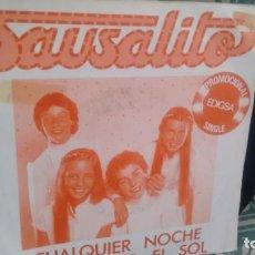 Discos de vinilo: SINGLE (VINILO) DE SAUSALITO AÑOS 80 . Lote 133603410