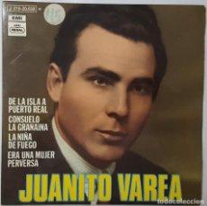 Discos de vinilo: EP - JUANITO VAREA - DE LA ISLA A PUERTO REAL +3 - EMI 1J 016-20.638 - 1971. Lote 133615854